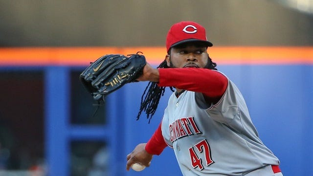 Should Johnny Cueto be the top trade target for the Astros?