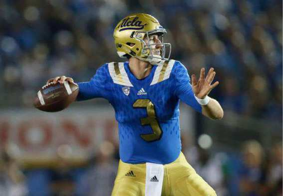 The blackshirts will contain UCLA quarterback Josh Rosen ...