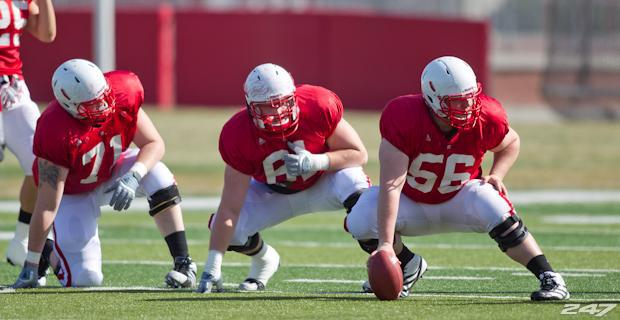 How do you feel about the Huskers young offensive line?