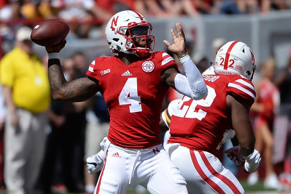 Tommy Armstrong had 4 TD's in win over Wyoming which TD was best?