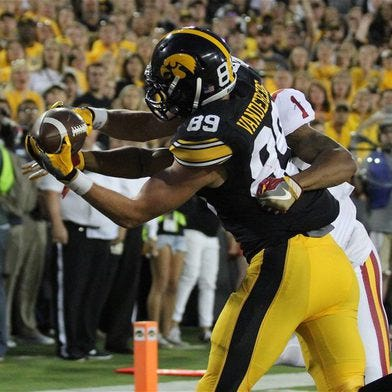 How will the Iowa offense perform without Matt VandeBerg?