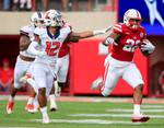 Which Terrell Newby TD run was bigger in win over Illinois?