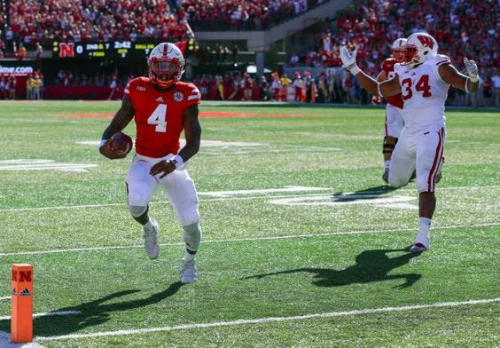 What is your prediction for the game against Wisconsin?