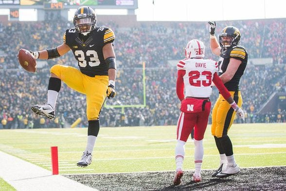 How disappointed are you in the Huskers after the loss to Iowa?