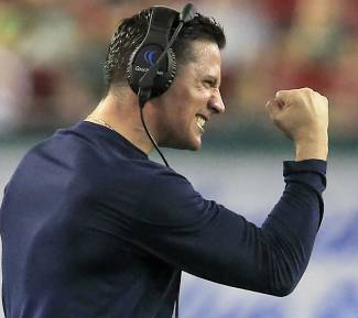 How do you feel about the hiring of DC Bob Diaco?