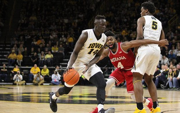 Who is a more vital player for Iowa men's basketball?