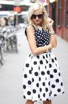 Style showdown: polka dots.