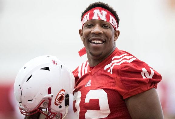 Who will be the Huskers running back this season?
