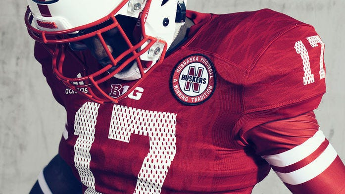 Do you like the Huskers throwback mesh jerseys?