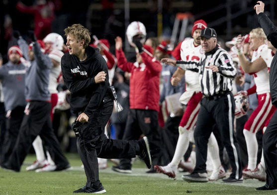 How do you feel about Nebraska after the 1-point win over Purdue?