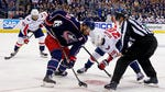 Who will win Game 4 between the Blue Jackets and  Capitals?
