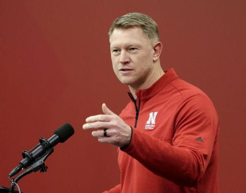 Should Scott Frost be ranked higher than 7th in the Big Ten?