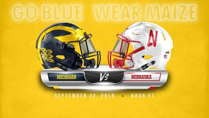 Nebraska-Michigan score prediction