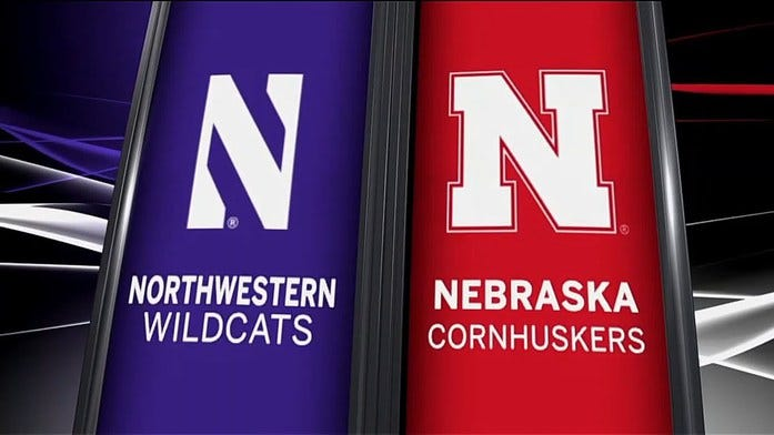 Nebraska-Northwestern score prediction