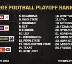 Do you agree with the Top 4 for the College Football Playoff?