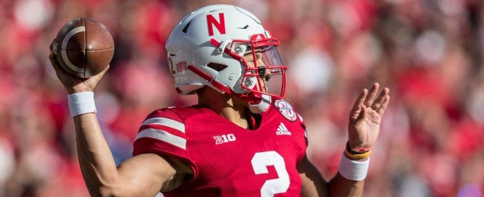 Do you believe that Huskers QB Adrian Martinez will be great?