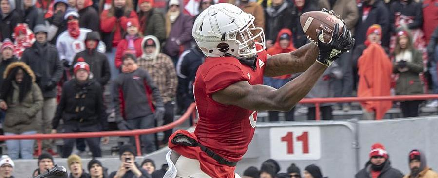Who will be the top Husker receiver - JD Spielman or Jack Stoll?
