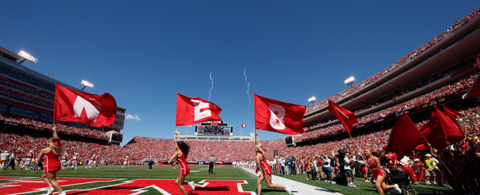 Which team is the bigger game this year for Huskers football?