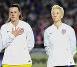 Is soccer player Megan Rapinoe disrespecting the national anthem?