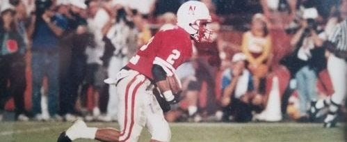 What was the toughest Husker loss due to a referee's call?