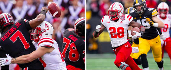 Would you like to see the Huskers become faster or more physical?