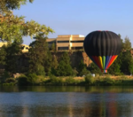Would you ever ride in a hot air balloon?
