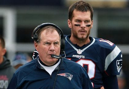 Are the Patriots still the best team in the AFC?