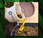 Will you compost food waste with your yard debris?