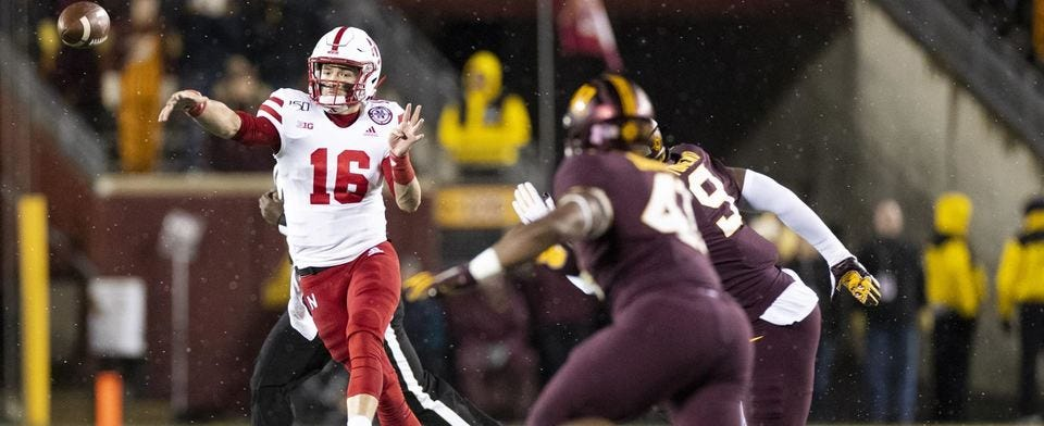 Are you seeing season-over-season improvement from the Huskers?