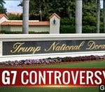 Should the president hold the G-7 summit at his resort?