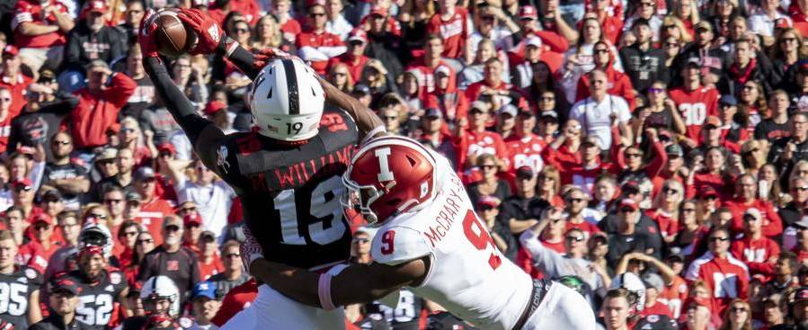 Were Indiana players faking injuries to slow Husker tempo?
