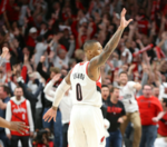 Was Dame's 32 foot step back and bye-bye the coldest move ever?