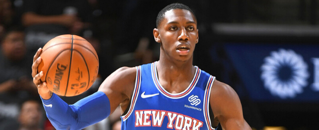 Is RJ Barret the best rookie swingman in the NBA this year?