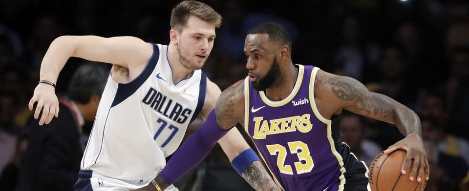 Should Luka Doncic be compared to the basketball legends so soon?
