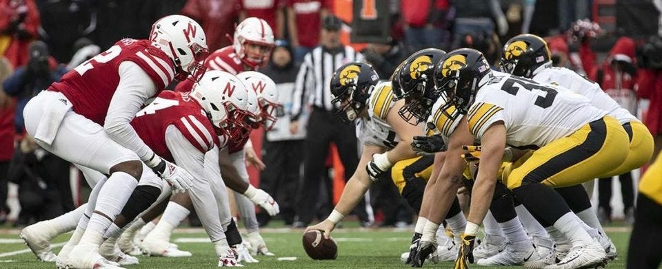 Should McCaffrey have stayed in the game against Iowa?