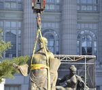 Does the Ceres statue belong on the state capitol dome?