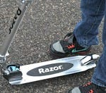 Pain from getting hit in the ankle with one of these bad boys?