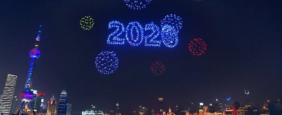 #Technology: Drones as Fireworks?