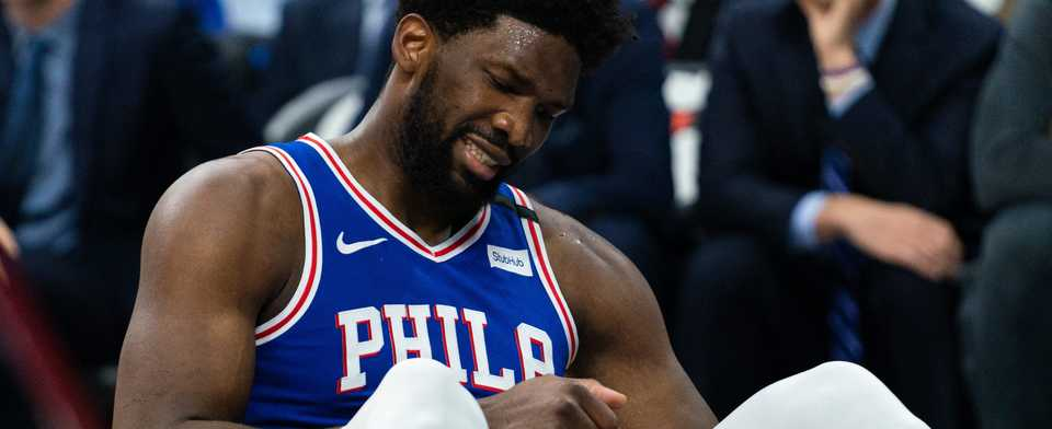 How bad will Joel Embiid being sidelined hurt the 76ers?