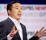 Should Yang have been at the Democratic Debate?