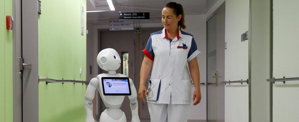 #Tech: Would you like your doctor being a robot?