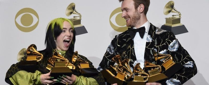 Surprised Billie Eilish won the top awards at the Grammys?