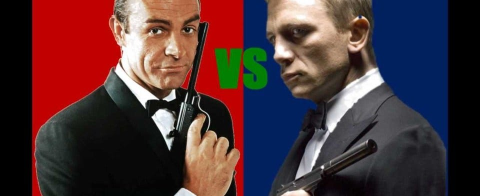 Who's the best James Bond?