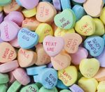 What is the better chalky heart candy note?