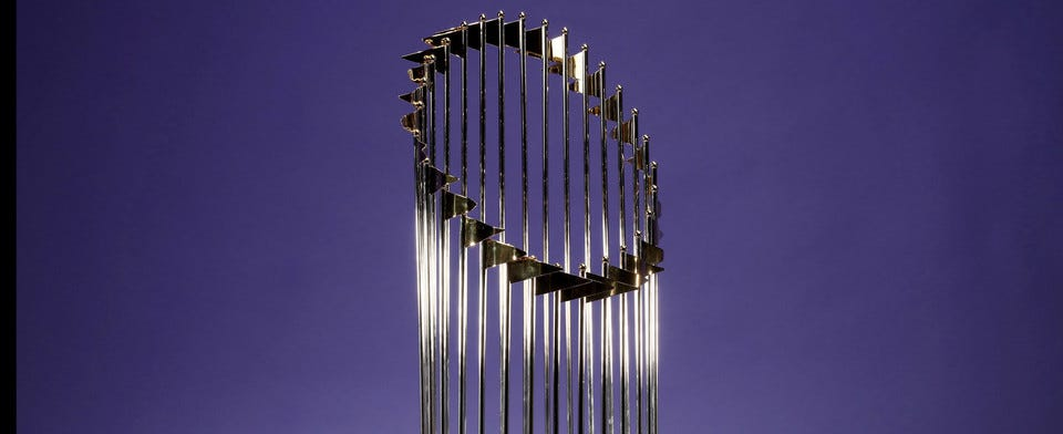 Do you think the World Series Trophy is just a piece of metal?