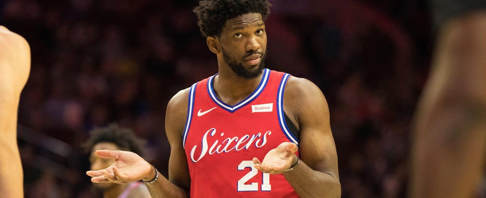 """Do you think Joel Embiid is """"the best player in the world""""?"""