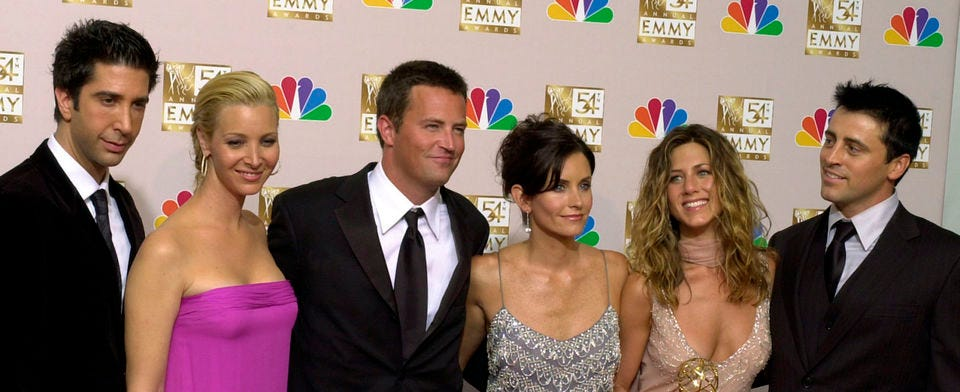 Is the 'Friends' reunion a big deal to  you?