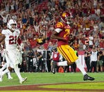 Will any USC WR top Michael Pittman's 2019 TD mark this fall?