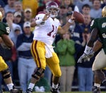 What was the bigger USC play against Notre Dame?