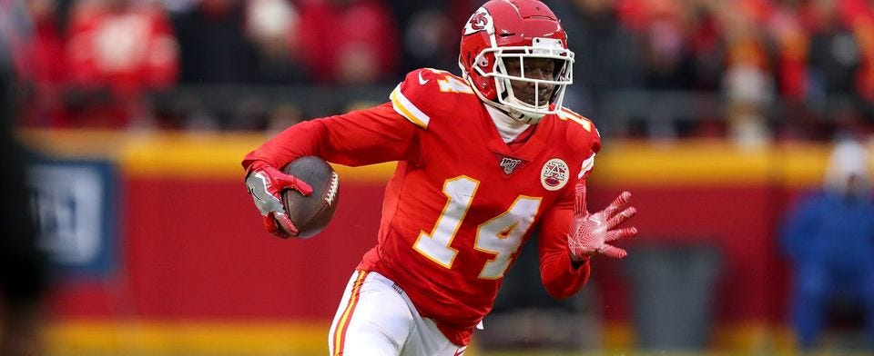 Should the Chiefs release or pay Sammy Watkins?